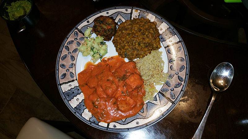 Butter-Chicken,-lentils,-Cucum-Salad1